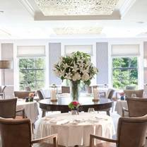 photo of the dining room at the mayflower inn & spa restaurant