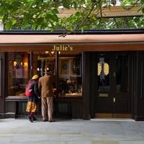 photo of julies restaurant restaurant