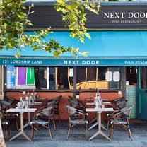 photo of moxon's next door restaurant restaurant