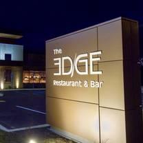 photo of the edge restaurant & bar restaurant