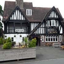 photo of rose and crown restaurant