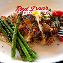 photo of red door woodfired grill - brookside restaurant