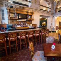 photo of lobby bar at the brown hotel restaurant