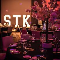 photo of stk christmas experience at me london restaurant