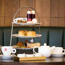 photo of afternoon tea at brasserie abode manchester restaurant