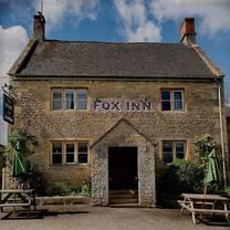 photo of the fox inn broadwell restaurant