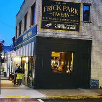 photo of frick park tavern restaurant