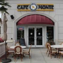 photo of cafe monte restaurant
