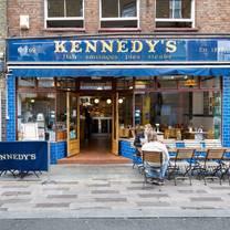 photo of kennedy's whitecross street restaurant