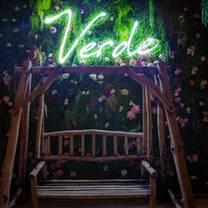 photo of restaurant verde - four seasons resort dubai at jumeirah beach restaurant