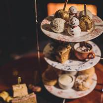 photo of afternoon tea at meldrum house restaurant
