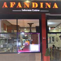 photo of afandina restaurant