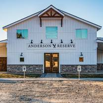 photo of anderson reserve restaurant