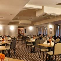 photo of bookcase restaurant at the guide post hotel restaurant