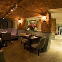 photo of the ivy brasserie at the grange hotel restaurant