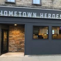 photo of hometown heroes restaurant
