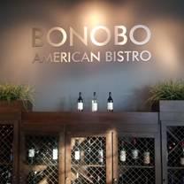 photo of bonobo american bistro restaurant