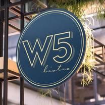 photo of w5 bistro restaurant