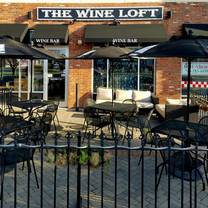 photo of the wine loft restaurant