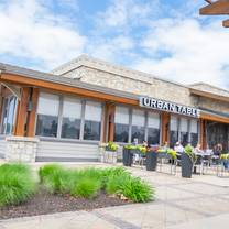 photo of urban table restaurant