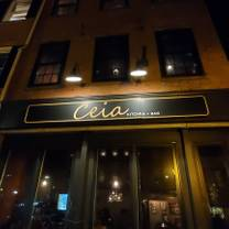 photo of ceia kitchen and bar restaurant