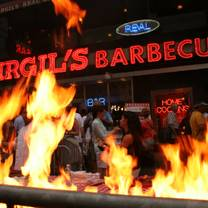 photo of virgil's real bbq - new york city restaurant