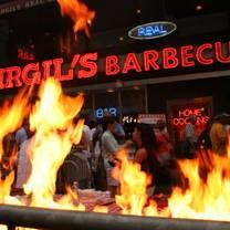 photo of virgil's real bbq - new york city restaurant
