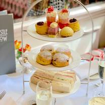 photo of afternoon tea at the castle hotel restaurant