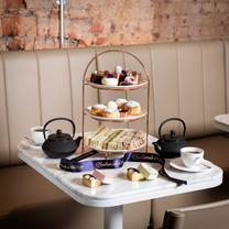 photo of afternoon tea at the bloomsbury street hotel restaurant