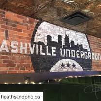 photo of nashville underground restaurant