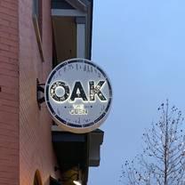 foto von oak at the glen restaurant