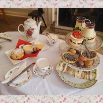 photo of afternoon tea at the rose & crown hotel restaurant