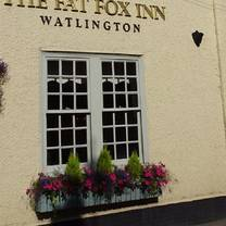 photo of the fat fox inn restaurant