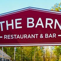 photo of the barn - restaurant & bar restaurant