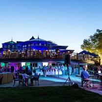 photo of beer garden at blu grotto restaurant