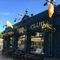 photo of the club dalkey restaurant