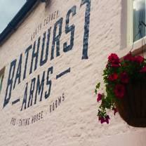 photo of the bathurst arms restaurant