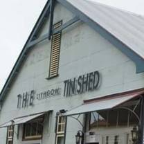 photo of the lithgow tin shed restaurant