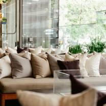 photo of lobby lounge at shangri-la hotel, toronto restaurant