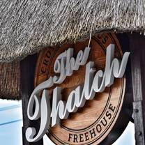 photo of the thatch restaurant