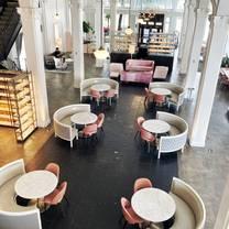 photo of the lobby bar restaurant