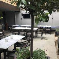 photo of the courtyard at hertford house restaurant