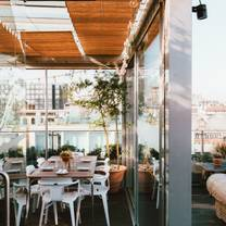 photo of glass orangery at boundary rooftop restaurant
