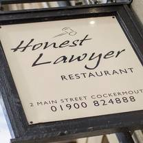 photo of honest lawyer restaurant restaurant