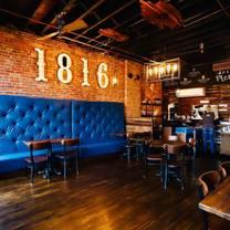photo of 1816 modern kitchen & drinks restaurant