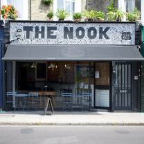 photo of the nook restaurant