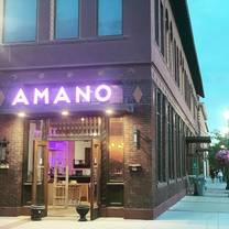 photo of amano restaurant