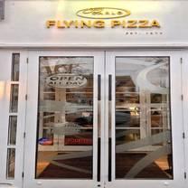 photo of flying pizza restaurant