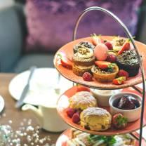 photo of afternoon tea at hilton cambridge city centre restaurant