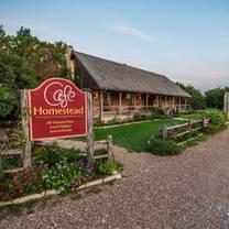 photo of cafe homestead restaurant